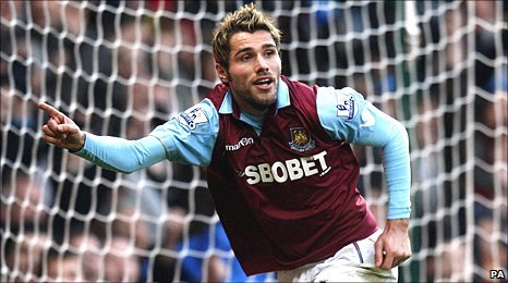West Ham midfielder Valon Behrami