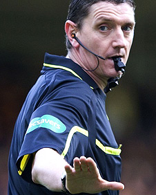 Scottish referee Craig Thomson