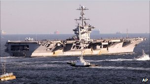 USS George Washington - 24/11/10