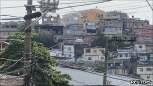 Alemao slum in Rio de Janeiro November 27, 2010