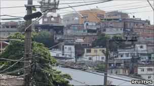 Alemao slum in Rio de Janeiro November 27, 2010