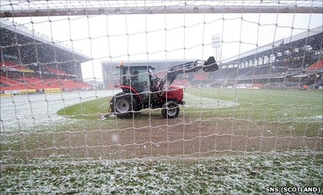 Dundee United v Rangers has been postponed