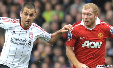 Joe Cole and Paul Scholes