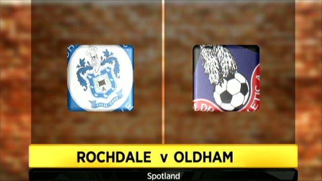 Rochdale 1-1 Oldham