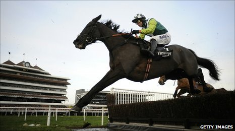 Denman in the Hennessy