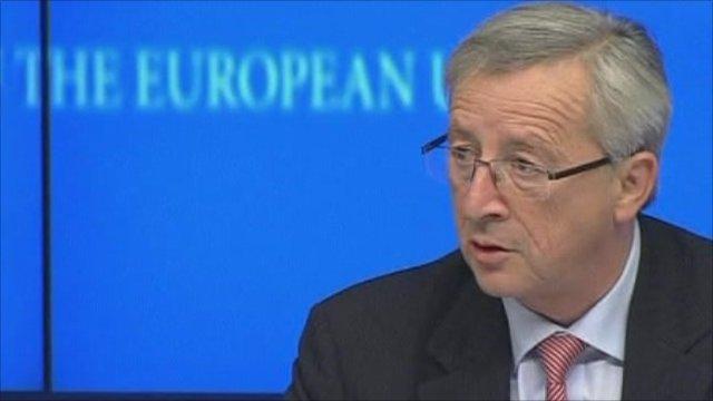 Eurogroup chairman Jean-Claude Juncker