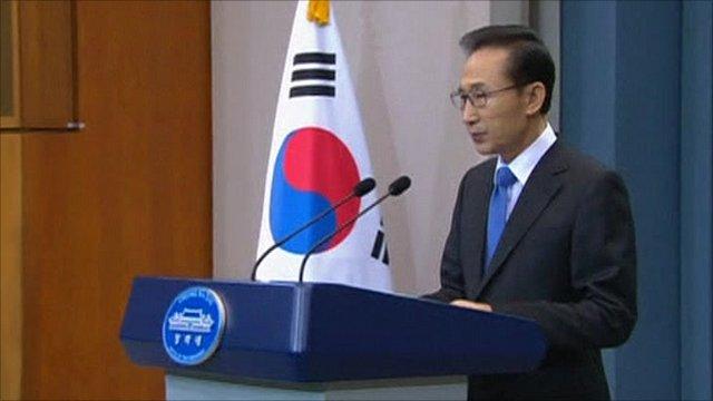 South Korean President Lee Myung-bak