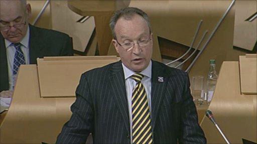 SNP MSP John Wilson