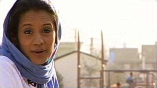 Sonali in Afghanistan