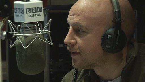 BBC Radio Bristol's Ben Prater taking part in Movember 2010