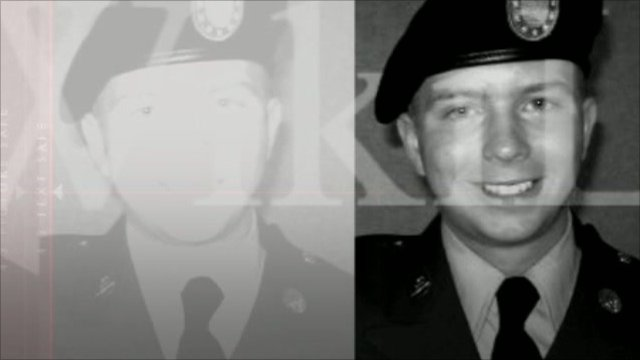US Army Private Bradley Manning