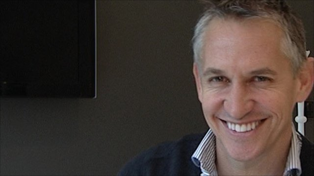 Gary Lineker celebrates his 50th birthday