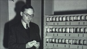 Maurice Wilkes and Edsac (NPL)