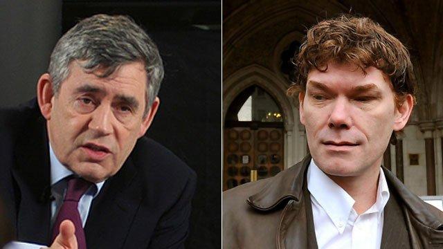 Gordon Brown and Gary McKinnon
