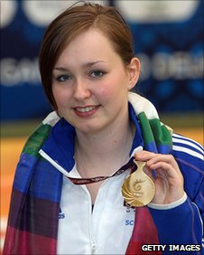 Scottish shooter Jen McIntosh