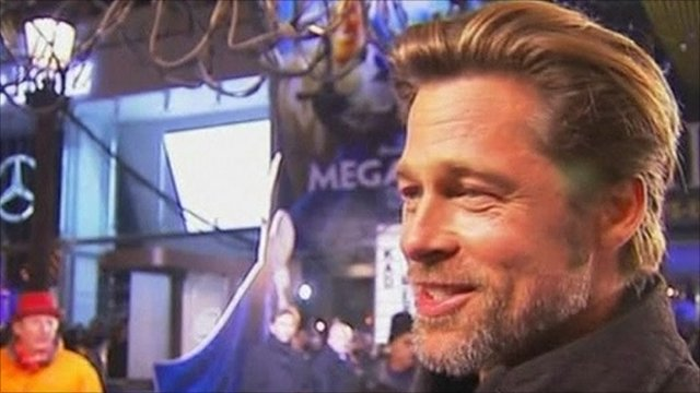 Brad Pitt has said he took a part in his latest film, Megamind,