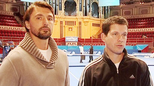 Goran Ivanisevic and Tim Henman