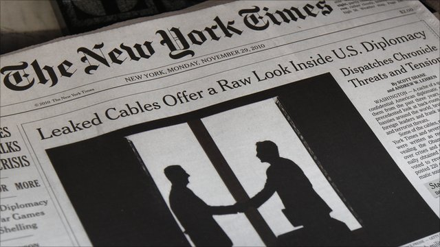New York Times newspaper