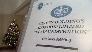 Creditors meeting notice