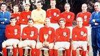 The winning World Cup England team