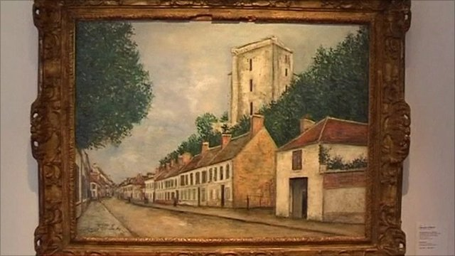 Maurice Utrillo painting