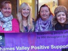 Volunteers from TVPS