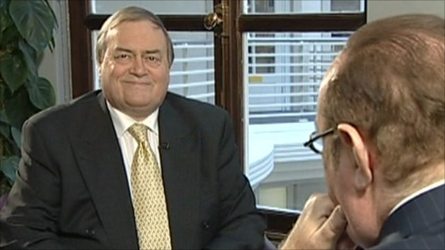 John Prescott and Andrew Neil