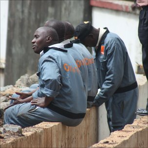 Orange workers in Kenya
