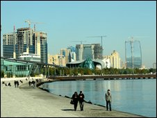 Baku seafront