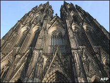 Face of Cologne cathedral