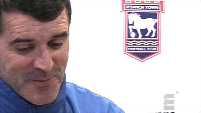 Ipswich Town manager Roy