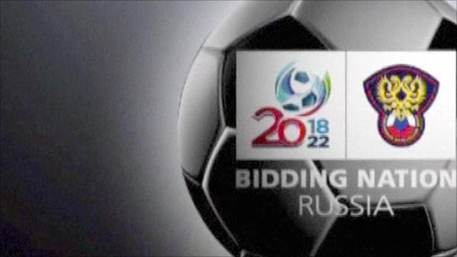 Russia's official 2018 bid promo