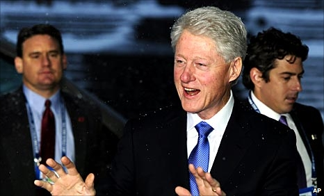 Former United States president Bill Clinton