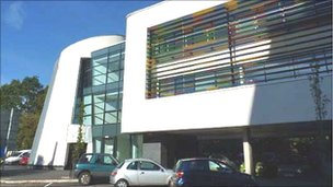 Cardiff University's £5m Cancer Genetics Building