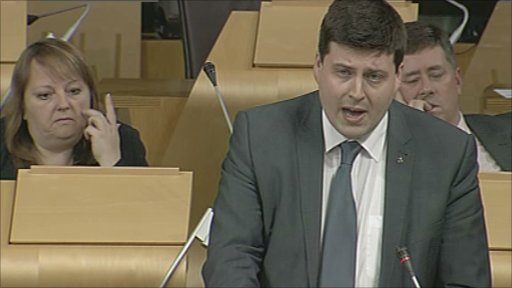 SNP MSP Jamie Hepburn led the debate