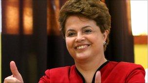 Brazil president-elect Dilma Rousseff