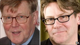 Alan Bennett and Nigel Slater