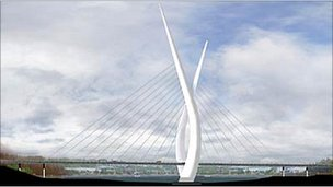 Proposed Sunderland River Wear bridge