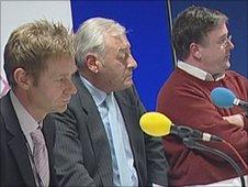 Guided bus debate panel