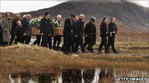 Linda Norgrove's funeral