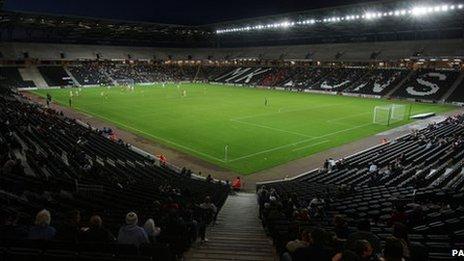 MK Dons' stadium