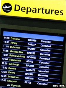 Cancellations at Gatwick