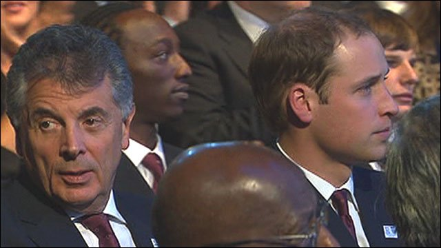 David Dein, Prince William