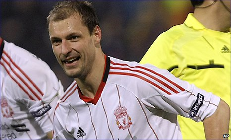 Milan Jovanovic put Liverpool ahead against Steaua Bucharest