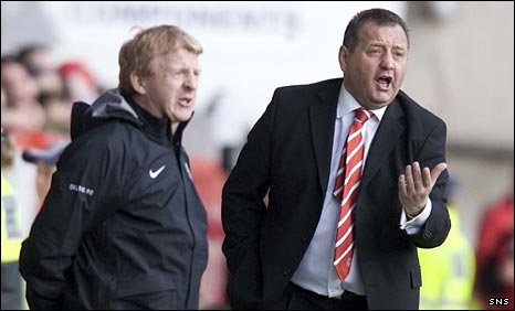 Gordon Strachan and Jimmy Calderwood