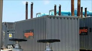 Aggreko power units