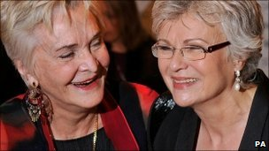 Sheila Hancock and Julia Walters 