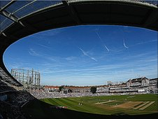 Surrey's home ground, which will be renamed the Kia Oval