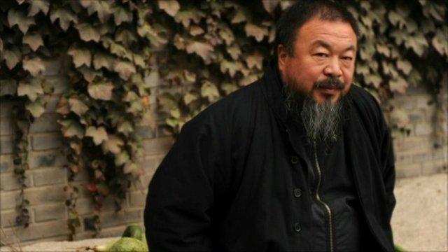 The Chinese artist, Ai Weiwei