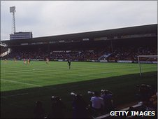The Main Stand at Nottingham Forest's City Ground